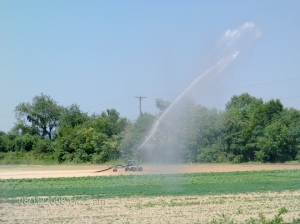 Watering Fields!