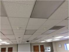 Indoor ceiling tile