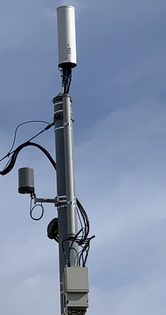 What is being deployed in smart poles?